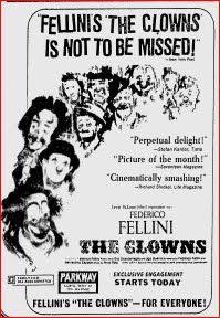 Change: The Clowns (Federico Fellini, 1970)