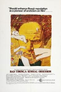 Bad Timing (Nicolas Roeg, 1980) @ Screening Room | Edinburgh | United Kingdom