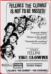 Change: The Clowns (Federico Fellini, 1970)